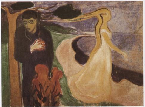 """Separazione"", Munch (1896); Munch Museet, Oslo"