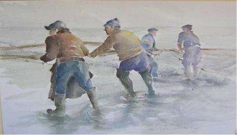 Anna Maria Crespi, Pescatori che tirano le reti